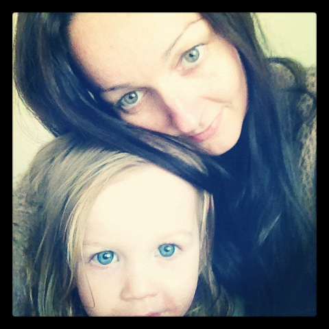 My wee Maiden and me, not ready for this workshop yet.. one day!